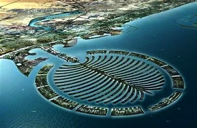 Dubai artificial islands